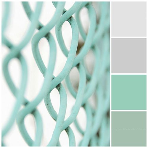 Seafoam green decor