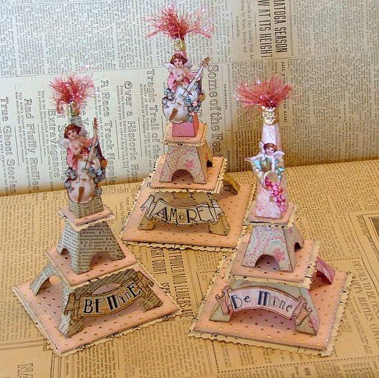 Valentine Eiffels - so cute!