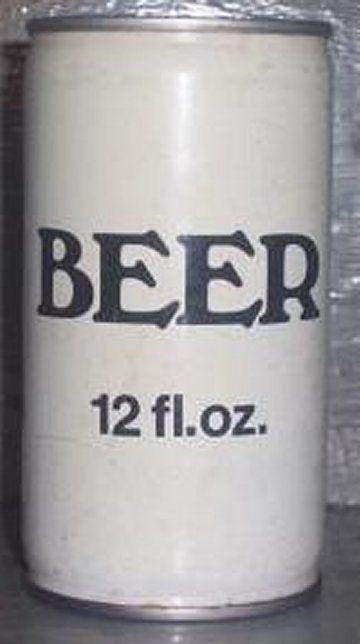 Generic Beer (ca. 1970s)