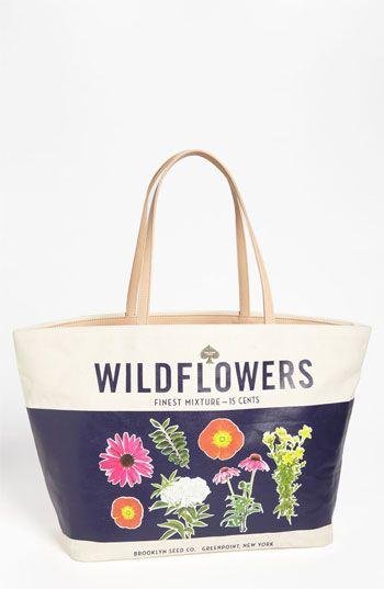 kate spade new york wildflowers - harmony tote