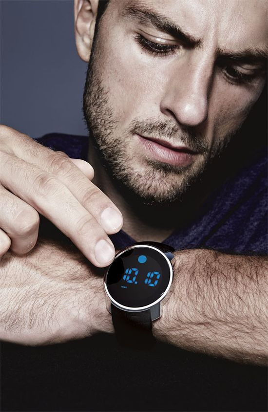 Movado Digital Watch for Him #Nordstrom #Men