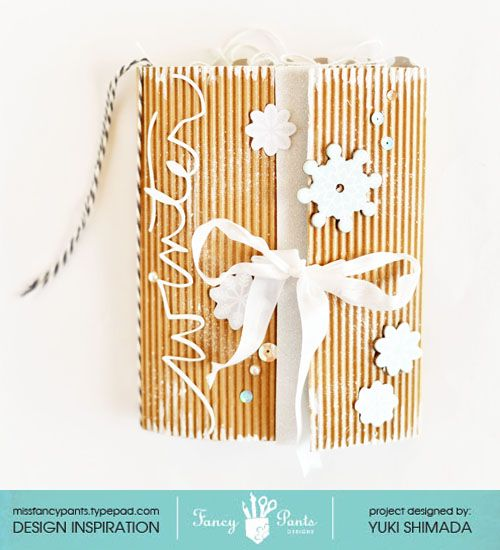 Winter Vacation mini album *Fancy Pants Designs* - Scrapbook.com