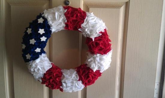 Patriotic Door Display