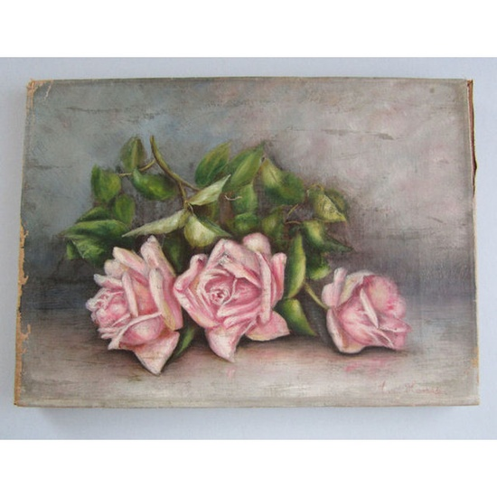 Victorian roses #painting