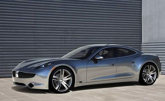 Fisker Karma Sports Car....Justin Bieber's new toy from his manager