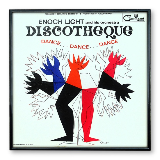 Enoch Light and His Orchestra: Discotheque I, designed by George Giusti, 1964