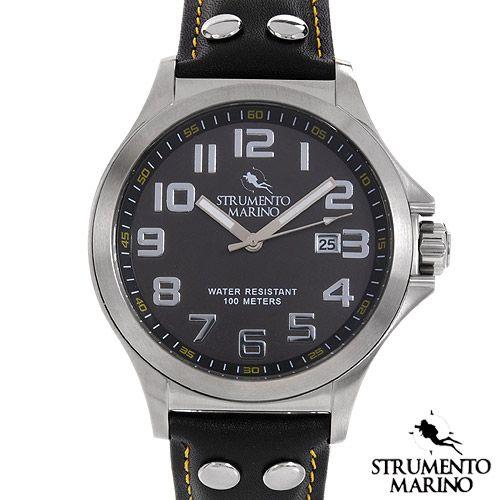 STRUMENTO MARINO SM046LSS/BK Men's Watch
