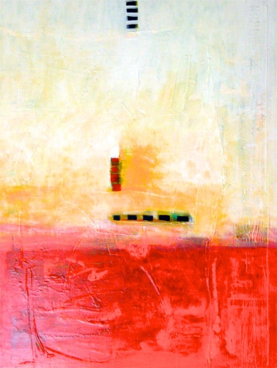 "Saatchi Online Artist: Vanessa Katz; Acrylic, 2013, Painting ""Counted"""