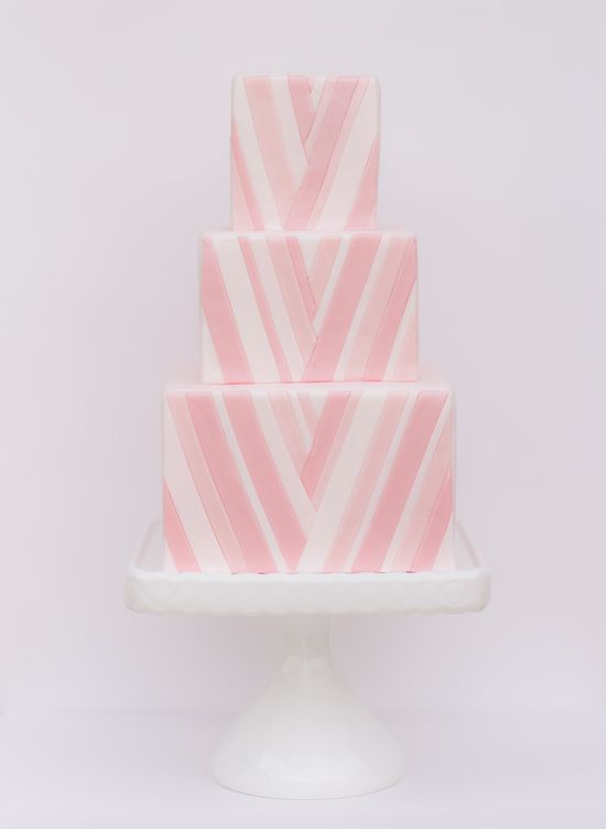 White + Pink Wedding Cake  #Wedding #Planning ideas itunes.apple.com/... tips on how to keep your costs down ? #pale #pastel #pink #wedding ? More pink wedding ideas pinterest.com/...