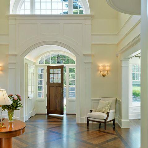 Entry Foyer Hardwood Floors Design Ideas