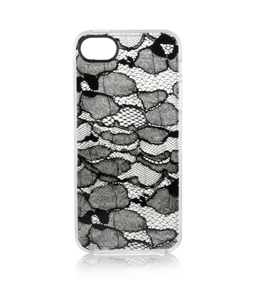Lace print iPhone case...