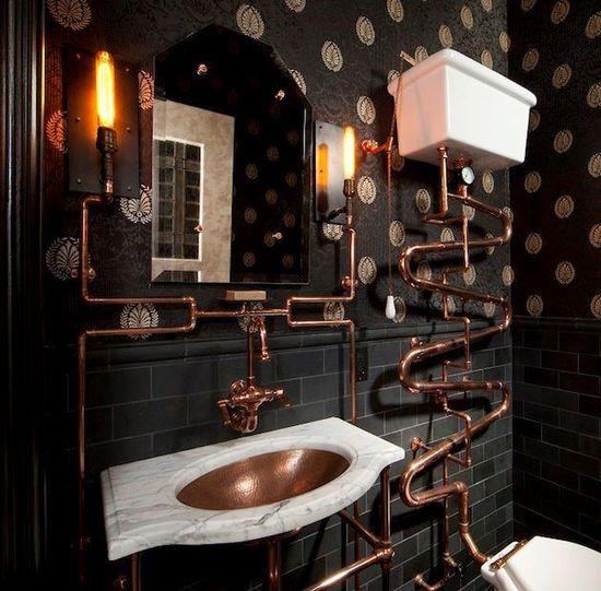 Steampunk Inspired Interior ?
