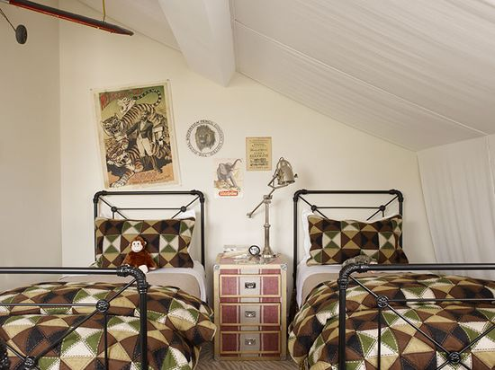 Safari inspired kids room designed by Ken Fulk