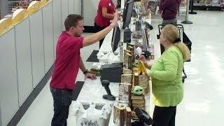 Kevin the Cashier #Pranks Customers At A Michaels Store - #funny #Ellen
