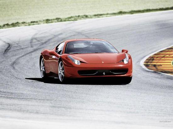10 World Fastest Sport Cars - Ferrari 458