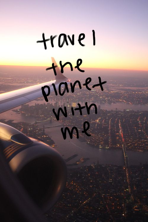 Travel with me?