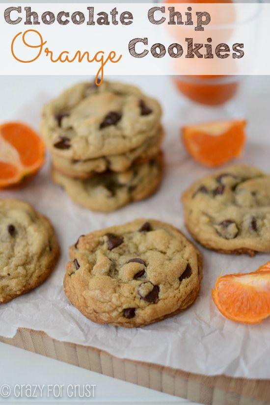 Chocolate Chip Orange Cookies from @Ian Tuck Tuck Hahn for Crust on @nikki striefler striefler striefler {chef-in-training.com}