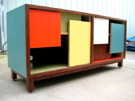 THOMAS WOLD'S repurposed vintage furniture