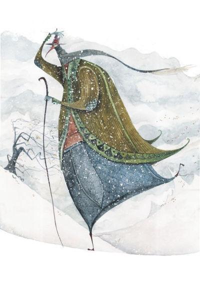"""snowing""  by Daniel Montero Galán"