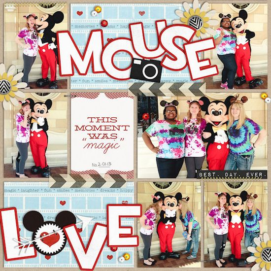 #papercraft #Disney #scrapbooking #layouts Britt-ish Designs Blog