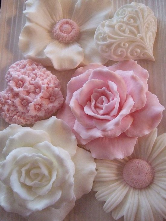 PINK and WHITE Collection Hand Soaps