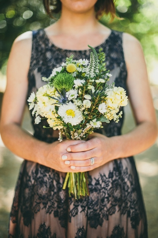 wildflower bouquet // photo by LoganColeblog.com