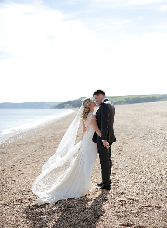 wedding photos on the beach #weddings #beachwedding #jennypackham