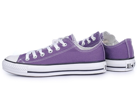 Purple + converse = awesome