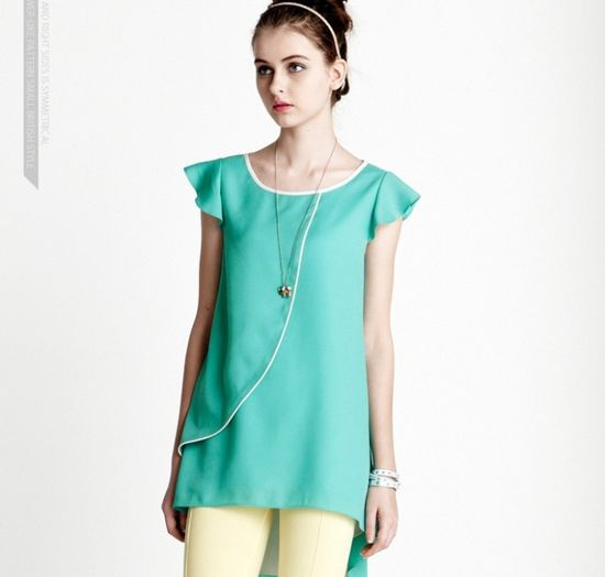 Loose Summer Clothes For Girls Green