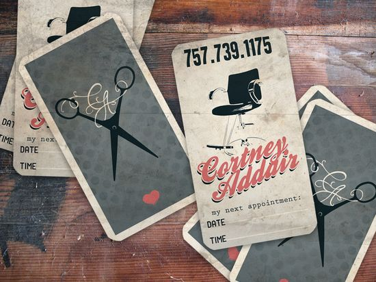 Really sweet, vintage business cards.