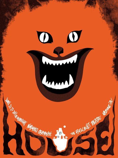 Japanese Movie Poster: House. Sam Smith. 2011