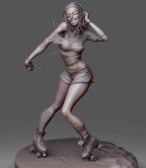 20 Beautiful 3D character Model designs for your inspiration   # Pinterest++ for iPad #