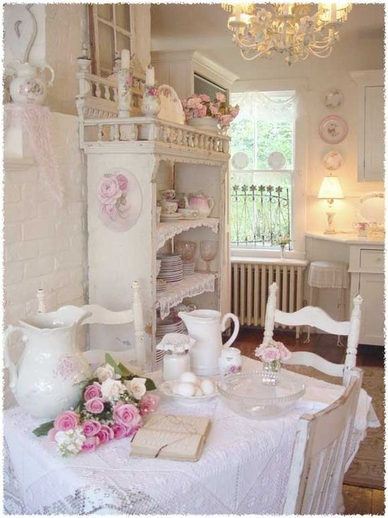 Country Kitchen - myshabbychicdecor... - #shabby_chic #home_decor #design #ideas #wedding #living_room #bedroom #bathroom #kithcen #shabby_chic_furniture #interior interior_design #vintage #rustic_decor #white #pastel #pink