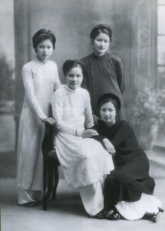 ao dai, vietnam in 1930
