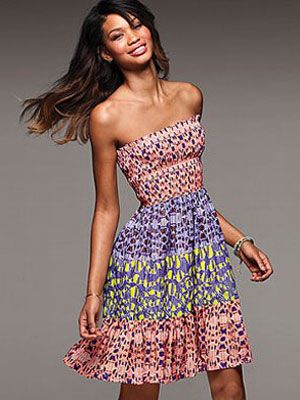 The summer clothes we're crushing on now. This dress needs to get in our closet.