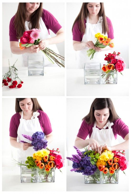 Great how-to for floral arrangements