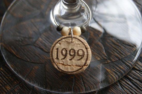 wine corks - wine charms