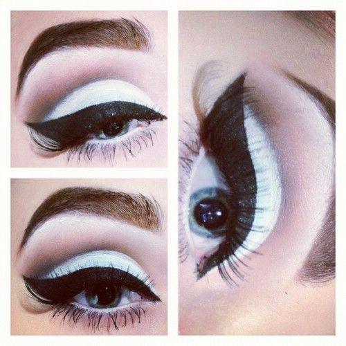 The perfect pinup eye makeup