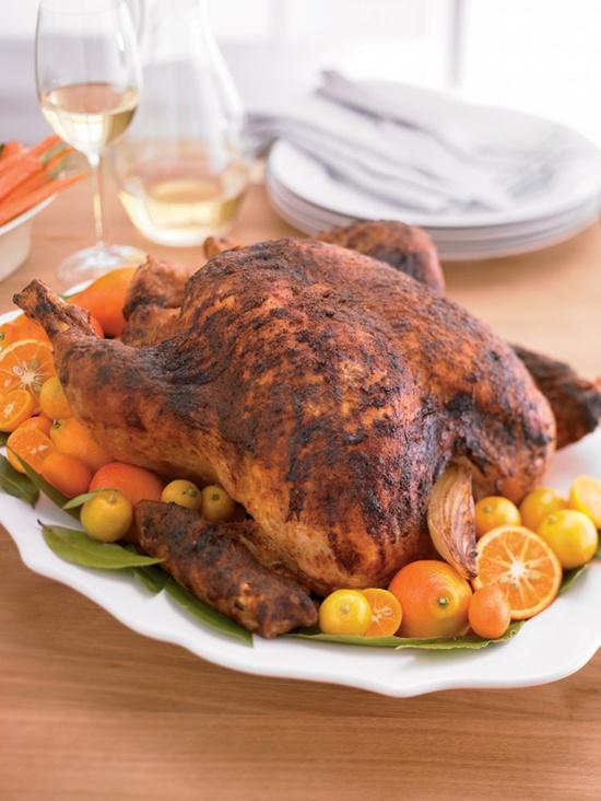 Prairie Rubbed Spiced Brined Roast Turkey #recipe #FoodNetwork #Kohls