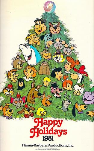 Hanna-Barbera 1981 Studio Calendar
