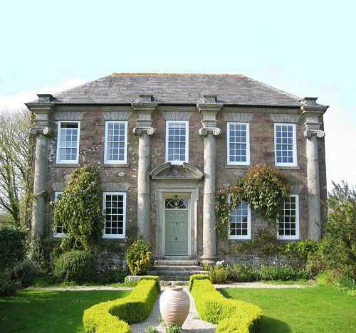 Georgian English country house