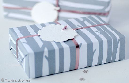 'Woods' Gift Wrap by Torie Jayne