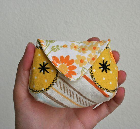 Owl mini pouch