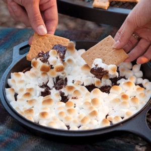 Skillet S'mores. what a delicious different way
