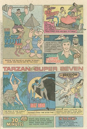 Saturday Morning Cartoon AD CBS 1979 part 2 by smurfwreck77, via Flickr
