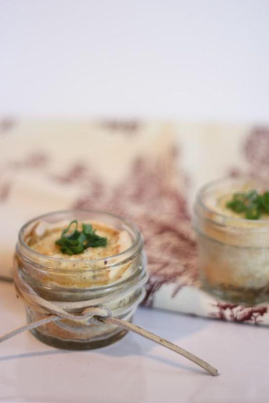Zucchini and goat cheese tarts