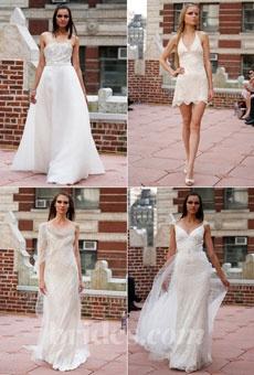 Anne Bowen Wedding Dress Collection - Fall 2013