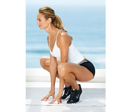 Stacy Keibler Workout: Workouts: self