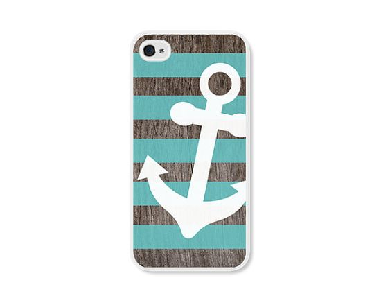 Anchor Apple iPhone 4 Case  Plastic iPhone 4s Case  by fieldtrip, $18.00