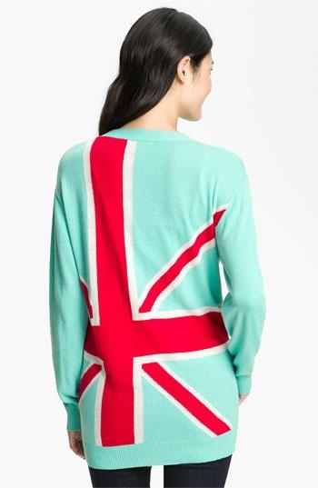 Press 'British Intarsia' V-Neck Cardigan